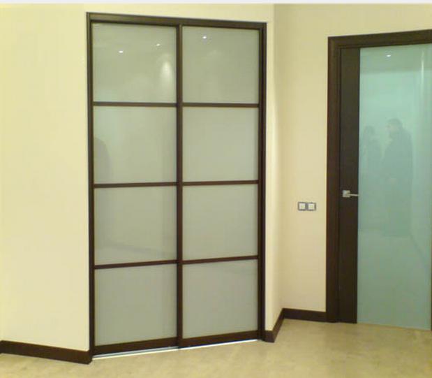 Двери купе для гардеробных